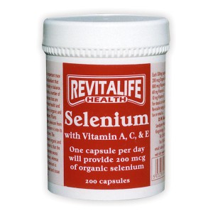 Selenium with Vitamins A,C & E